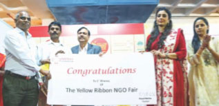 Glimpses of Yellow Ribbon NGO